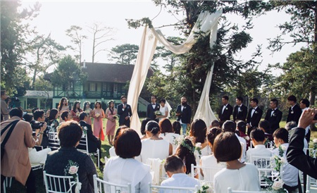 Nên duyên nhờ mảnh vườn đẹp, chàng kiến trúc sư tự tay chuẩn bị đám cưới như thơ ở Đà Lạt để chiều ý nguyện người yêu 5