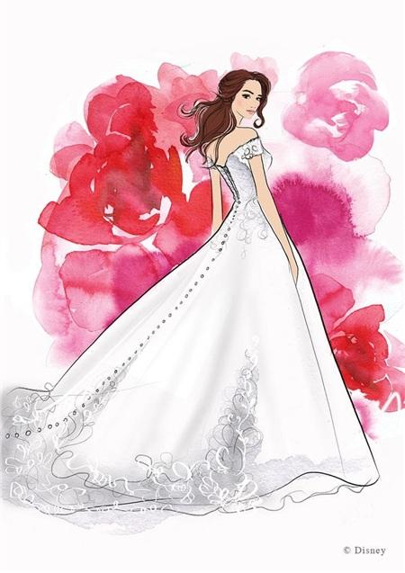 Công chúa Belle trong 'Người đẹp và quái vật'.
