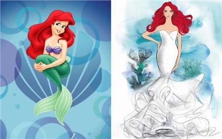 Disney ra mắt bộ sưu tập váy cưới lấy cảm hứng từ công chúa Ariel, Lọ Lem, Rapunzel, Bạch Tuyết 0