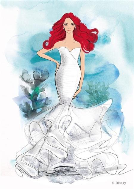 Công chúa tiên cá Ariel.