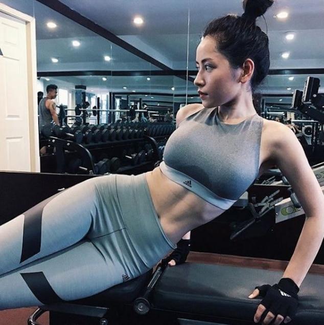 Được biết để có thân hình đạt chuẩn như hiện tại, Chi Pu cũng phải ép bản thân vào chế độ ăn uống, tập luyện nghiêm khắc, điều độ.