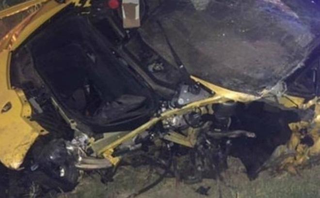 Anh chàng cầu thủ thoát chết thần kỳ sau tai nạn vỡ nát siêu xe Lamborghini đi thuê 0