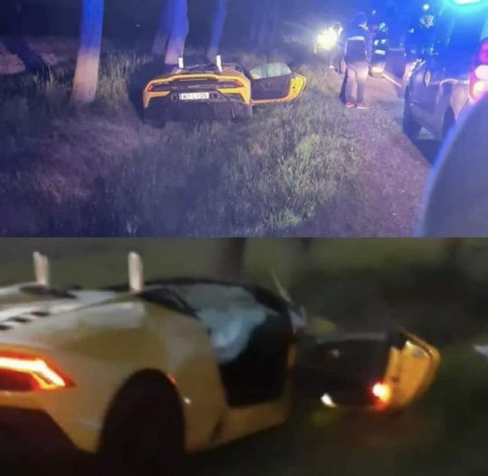 Anh chàng cầu thủ thoát chết thần kỳ sau tai nạn vỡ nát siêu xe Lamborghini đi thuê 2