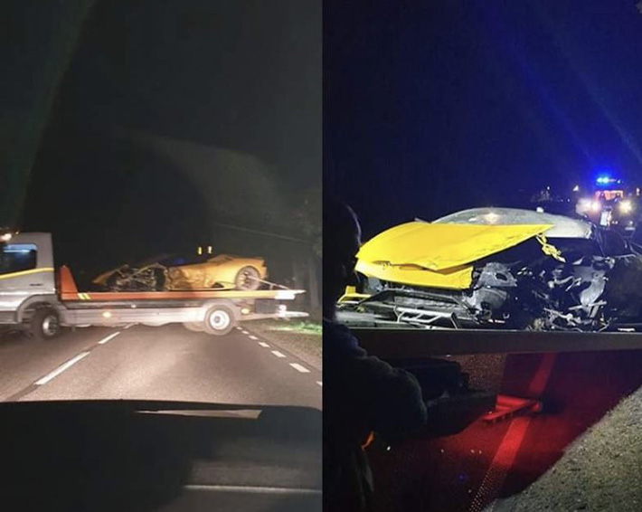 Những hình ảnh khác từ hiện trường vụ tai nạn.