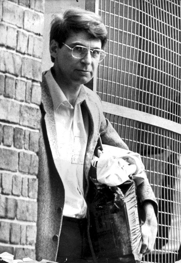Chân dung kẻ giết người hàng loạt Dennis Nilsen.