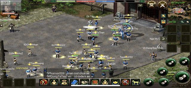 Hình ảnh ingame trong JX1 Huyền Thoại Võ Lâm vẫn giữ nguyên như hồi 2005