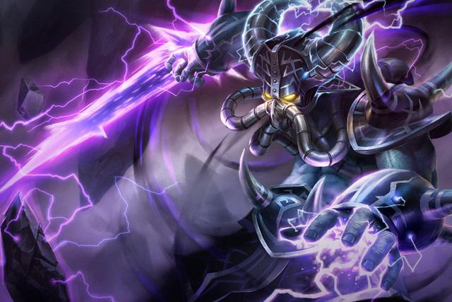 Kassadin là một trong những pháp sư sát thủ có thể tăng tiến sức mạnh cực nhanh tại đường giữa.