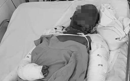 Nhà bốc cháy lúc đang ngủ, hai vợ chồng ở Lâm Đồng chỉ kịp cứu 3 con rồi hóa thành 'ngọn đuốc sống'