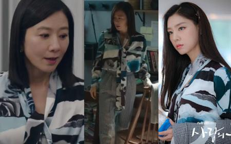 Kim Hee Ae đụng độ với Seo Ji Hye chiếc áo blouse 30 triệu: Cả hai đều đẹp nhưng set đồ của 'chị đại bị cắm sừng' thú vị hơn hẳn