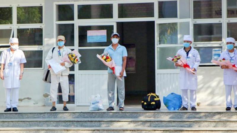 Thêm 2 bệnh nhân mắc Covid-19 ở thôn Văn Lâm (Ninh Thuận) khỏi bệnh, xuất viện
