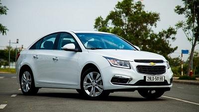 Chevrolet Cruze 2017: Trẻ trung và  hiện đại