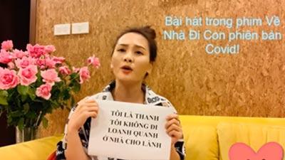 Bảo Thanh hứa không đi loanh quanh, ngồi nhà hát OST 'Về nhà đi con' version Covid-19