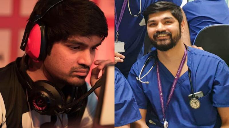'Gác súng' ngừng thi đấu, game thủ Ấn Độ trở thành bác sĩ tham gia tuyến đầu chống dịch Covid