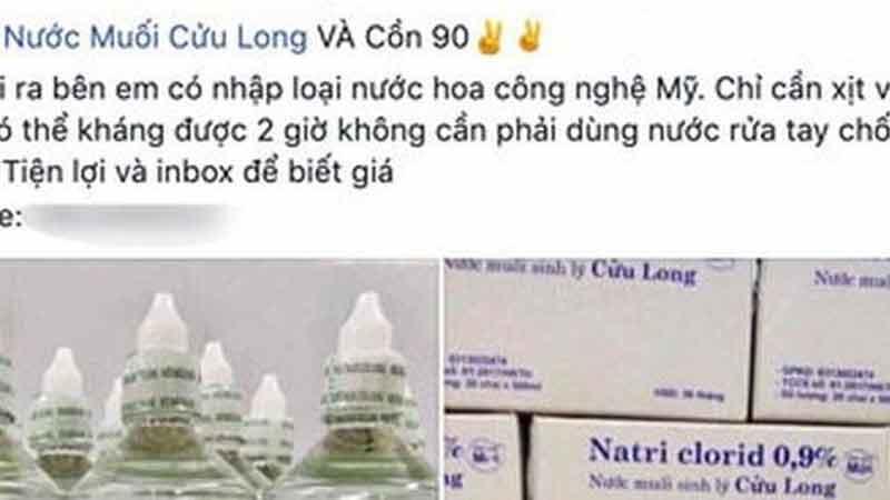 Cảnh báo bán thuốc kháng virus tràn lan trên mạng