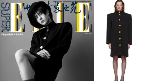 Vương Nhất Bác tự tin mặc váy lên hình tạp chí