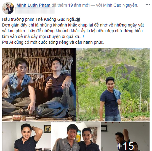 Không chỉ với Bình Minh, Trương Quỳnh Anh còn thân mật với một nam diễn viên khác trong phim 0