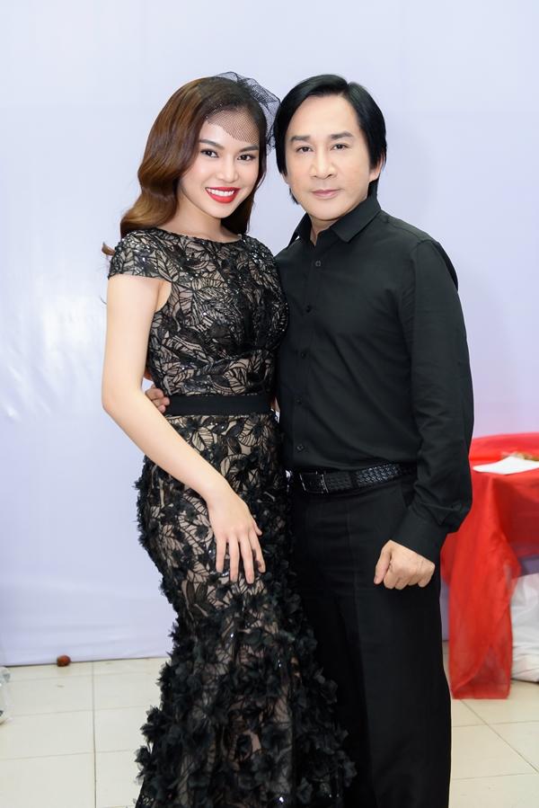 Giang Hồng Ngọc và NSƯT Kim Tử Long
