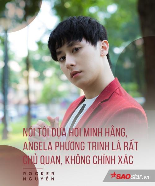 Rocker Nguyễn nói về tin đồn cặp đại gia, dựa hơi Minh Hằng - Angela Phương Trinh để nổi tiếng 4
