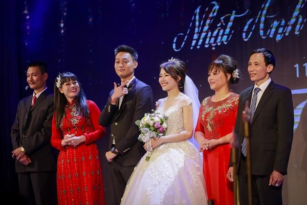 Nhật Anh Trắng hạnh phúc cùng cô dâu Trang Đinh trong ngày cưới 4