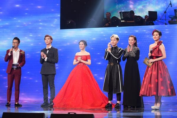 Top 4 trong đêm chung kết cuộc thiCặp đôi Hoàn hảo: Trữ tình & Bolero