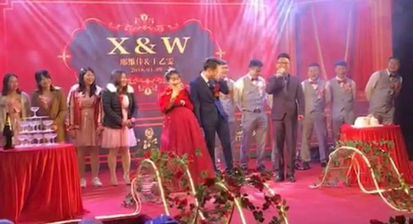 Đám cưới ở Trung Quốc gây xôn xao dư luận những ngày qua.