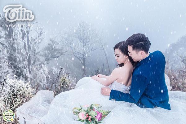 Bộ ảnh được thực hiện giữa thời tiết lạnh giá của Sa Pa.