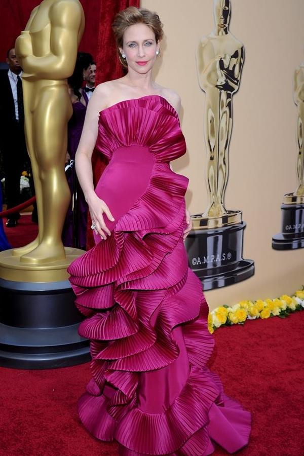 'Ảo ảnh thị giác di động' tại Oscar 2010 Vera Farmiga.