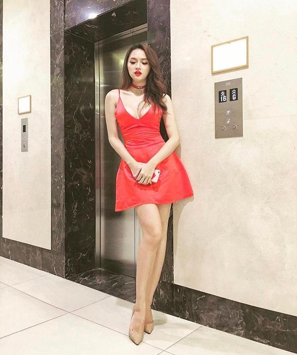 Hương Giang - cô nàng yêu màu đỏ 6