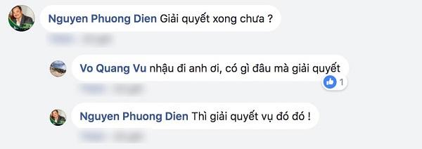 Đoạn hội thoại giữa đạo diễn Nguyễn Phương Điền và anh trai Trường Giang