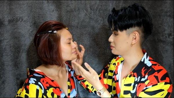 Clip: Đào Bá Lộctrổ tài make-up cho bạn thân đi chơi chỉ trong vòng 10 phút 1