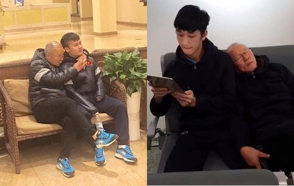 Dường như giữa ông Park và học trò không có khoảng cách, họ coi nhau như người trong gia đình