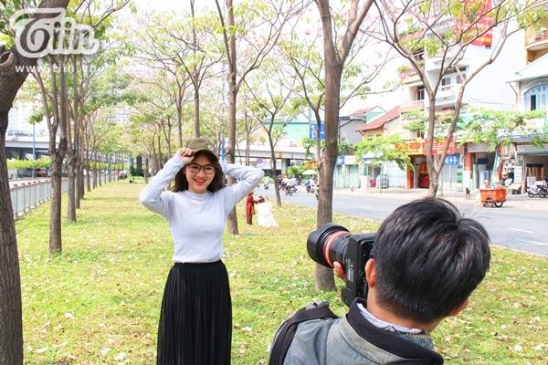 Sài Gòn tháng 4 rực rỡ với mùa hoa loa kèn 10