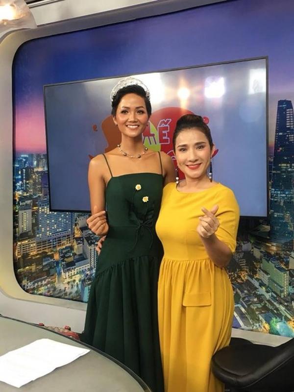 Gam màu khiến nàng Hoa hậu Hoàn vũ Việt Nam 2017 bị công chúng đánh giá 'kém sang'.