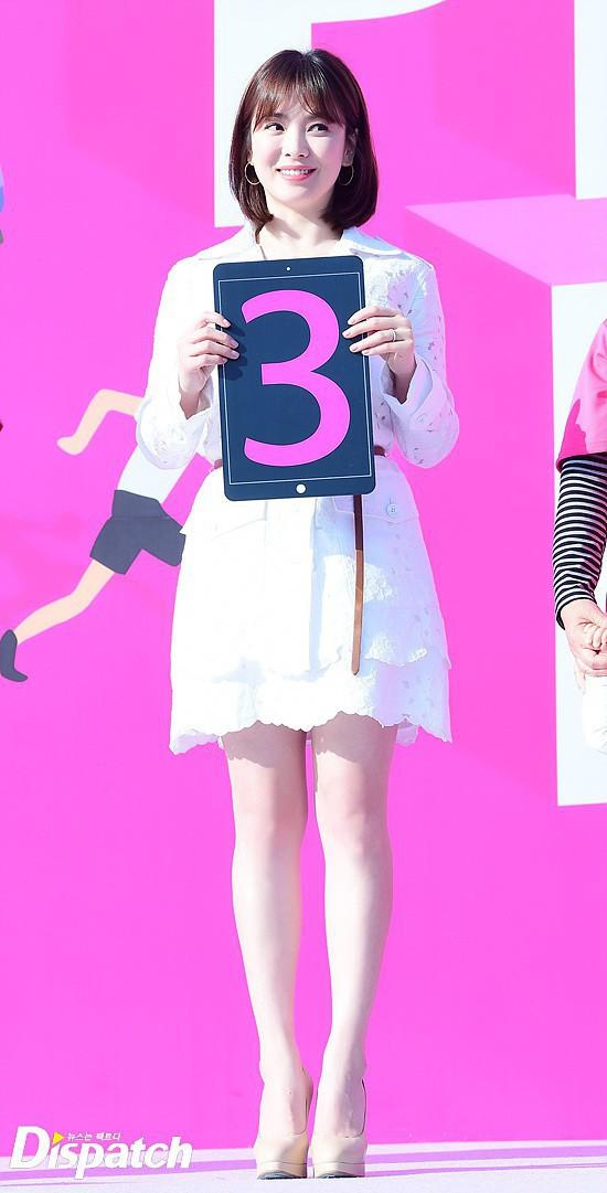 Song Hye Kyo được nhiều người nhận xét là 'có da có thịt' hơn sau khi kết hôn nhưng vẫn rất xinh đẹp.