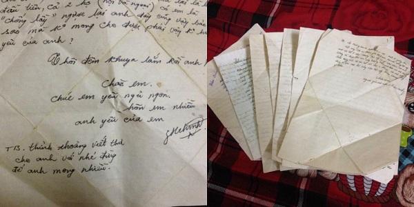 Thanh xuân của bố mẹ gói trong những bức thư tình đợi mong 0