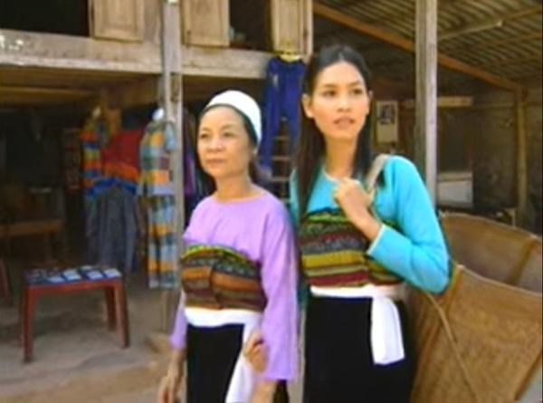 Hà Hương vào vai Sa - cô gái người dân tộc Thái có tình yêu mãnh liệt với điệu múa Thái.