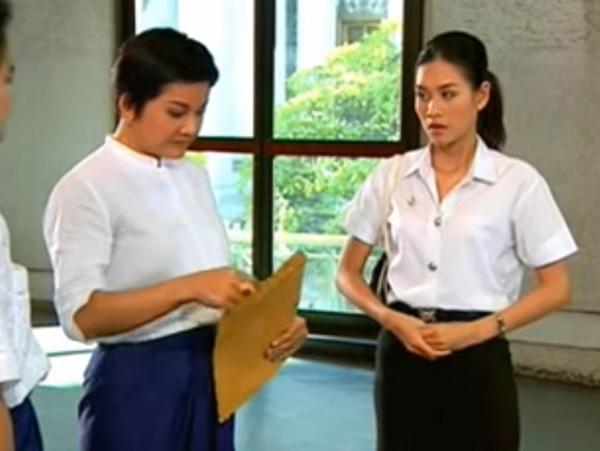 Ngoài vai Nguyệt đáo để, Hà Hương còn có vai diễn hiền lành, thường xuyên bị bắt nạt trong 'Tình xa' 6