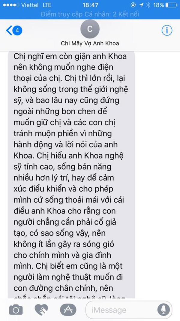 Phạm Lịch công khai tin nhắn riêng tư với vợ chồng Phạm Anh Khoa sau vụ tố gạ tình 3