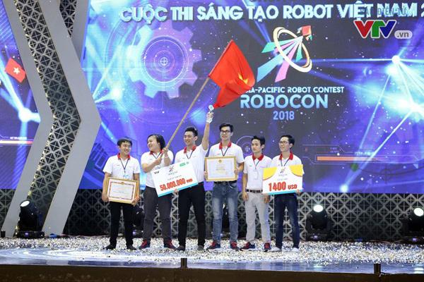 Đội LH - ATM (Đại học Lạc Hồng) giành chức vô địch. (Ảnh: VTV)