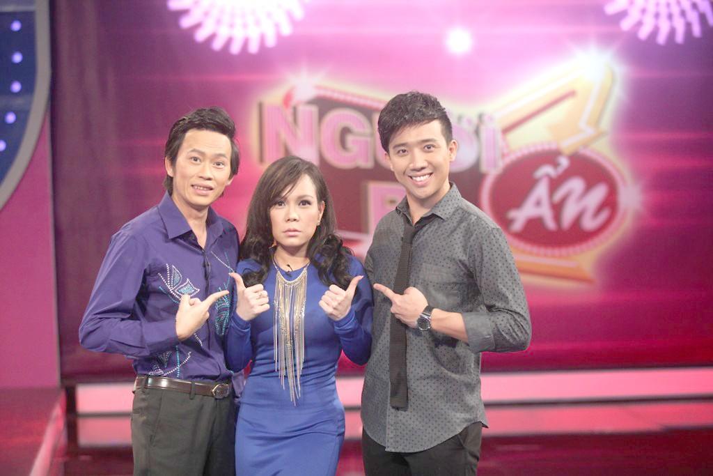 Trấn Thành và Việt Hương, Hoài Linh là 3 nghệ sĩ có nhiều clip hậu trường thú vị cùng nhau