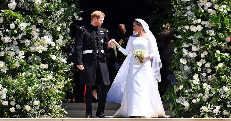 Chiếc váy cưới của Công nương Meghan mang nhiều thông điệp về cuộc hôn nhân Hoàng Gia.