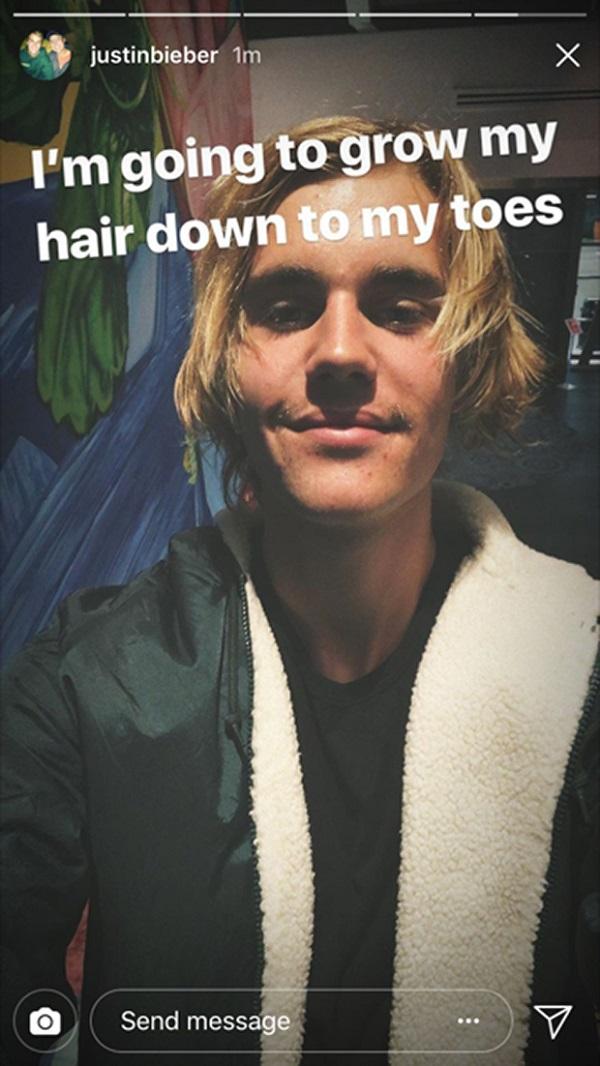 Justin Bieber đòi để tóc dài chấm gót, fan 'kêu trời' can ngăn 0