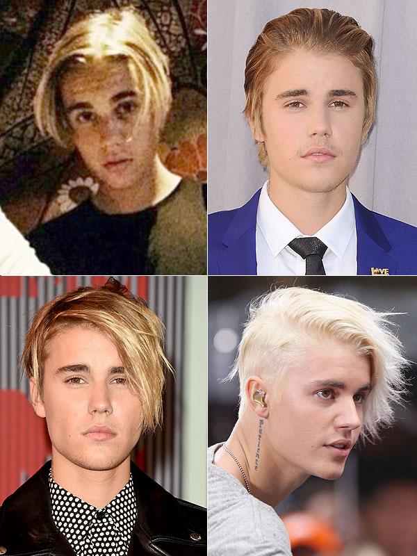 Mái tóc gây tranh cãi một thời của Justin Bieber.