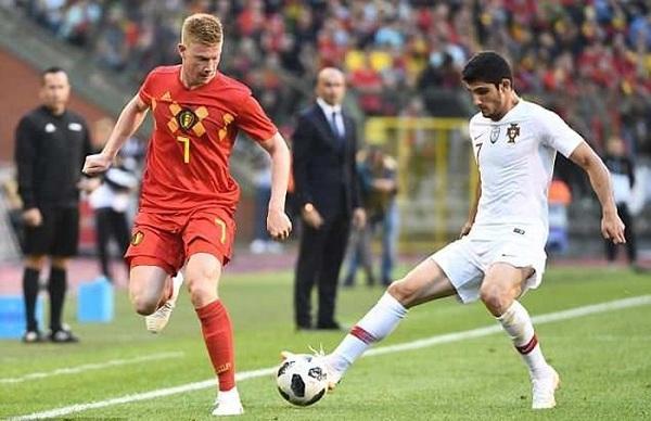 Không có sự hiện diện của Ronaldo, Bồ Đào Nha thi đấu thiếu khởi sắc và hòa Bỉ 0-0 trong trận giao hữu tiền World Cup