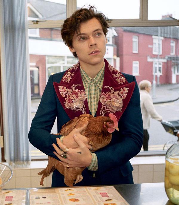 Harry Styles đã trưởng thành rồi, lại đẹp trai và manly thế này cơ! 3