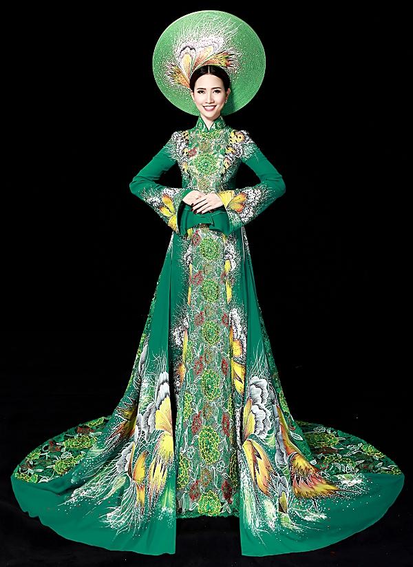 Phan Thị Mơ được cấp phép dự thi Hoa hậu đại sứ du lịch Thế giới 2018 1