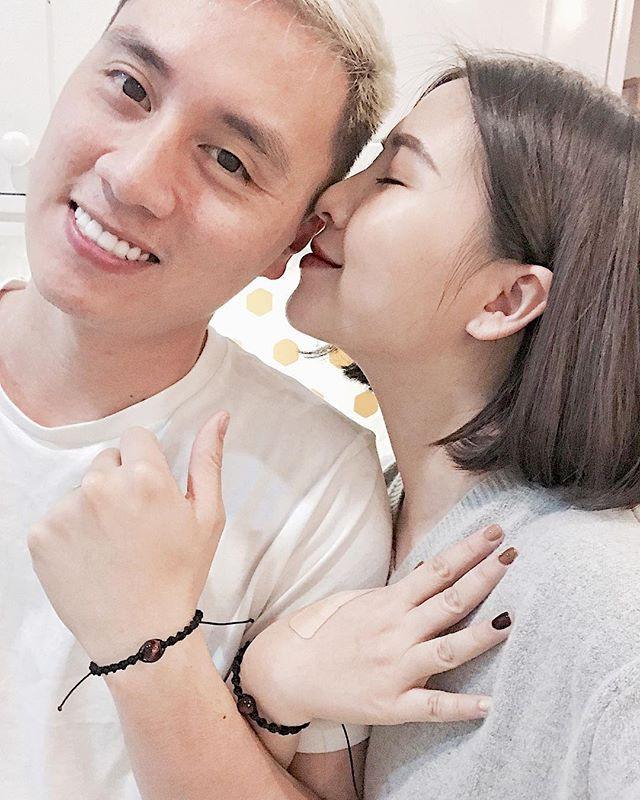 Cặp đôi Heo Mi Nhon và Kiên Hoàng.