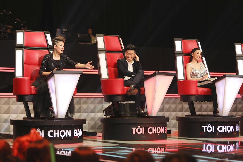 Giọng hát Việt (Tập 5): Giọng cakhiến Thu Phương chặn Lam Trường, câu chuyện tình bạn 20 năm lại 'dậy sóng' 2