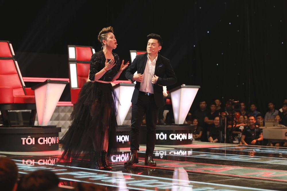 Giọng hát Việt (Tập 5): Giọng cakhiến Thu Phương chặn Lam Trường, câu chuyện tình bạn 20 năm lại 'dậy sóng' 6