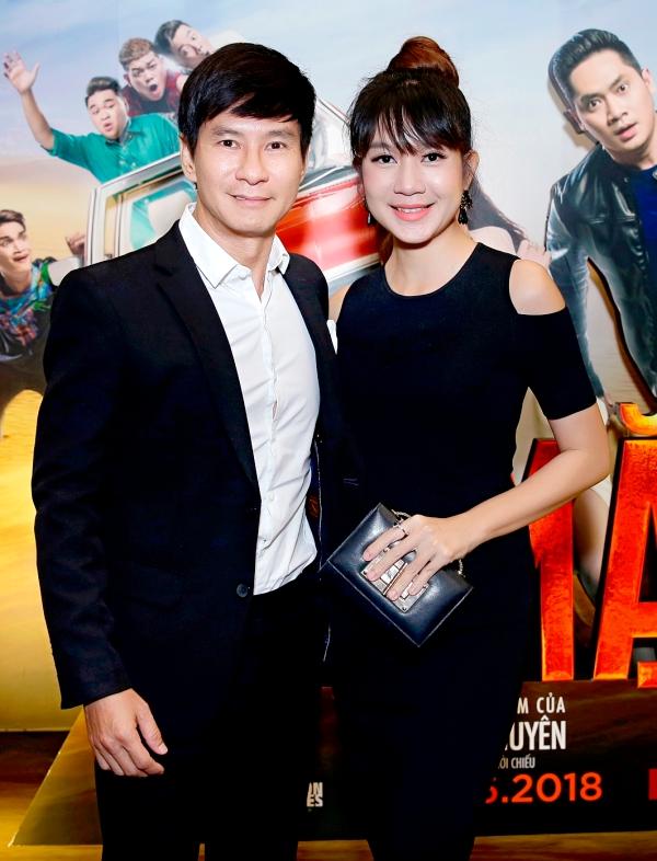 Vợ chồng Lý Hải - Minh Hà tình tứ bên nhau tại sự kiện ra mắt phim Lộ Mặt 0